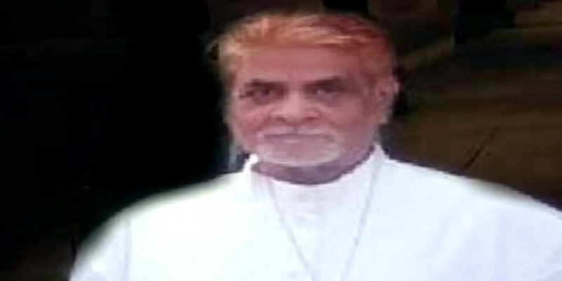 Bishop Dr Alok Mukherjee, Chairman, National Christian Minority Forum